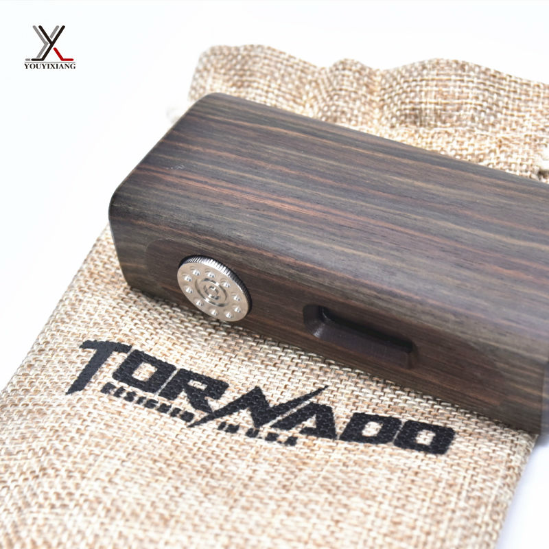 10pcs/lot 100% Original Woody Electronic Cigarettes 75W MOD BOX Kit e cigarette Wooden Kit with OLED Display 18650 Battery