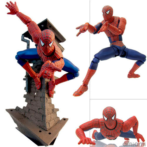 SC-Fi Iron Man VS Captical America Civil War Super Hero Spiderman 039 Peter Parker 16CM PVC Action Figures Doll Toys power man and iron fist volume 2 civil war ii