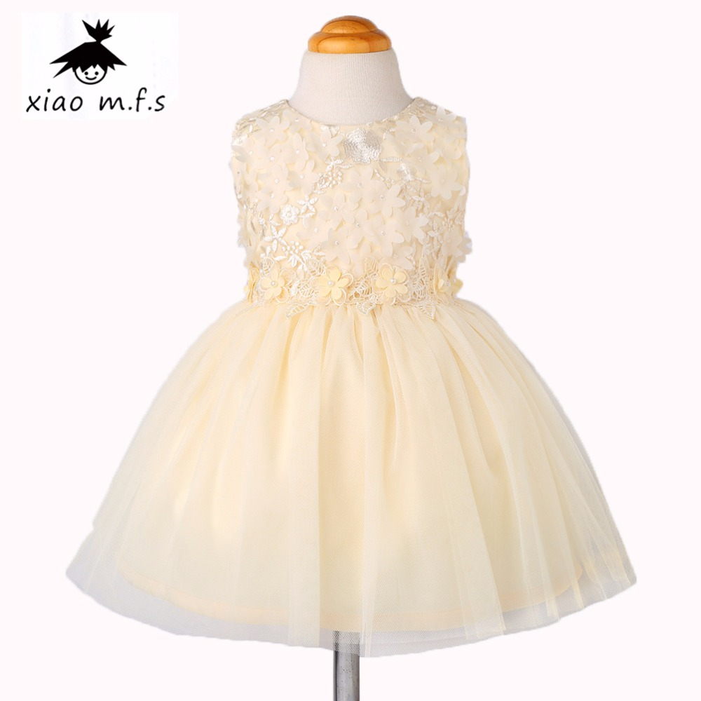 2017 brand girls dress kids Embroidery flower princess dresses for baby girl clothes toddler clothing for party and wedding summer kids girls lace princess dress toddler baby girl dresses for party and wedding flower children clothing age 10 formal