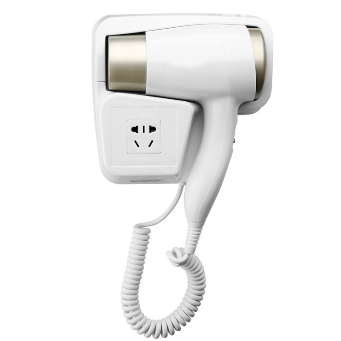 Hair Dryers hotel hangs wall hanging type domestic toilet bathroom electric without punching hole - 2