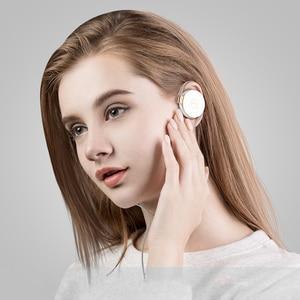 Image 4 - Rukz L1 Stereo Oorhaak Sport Oortelefoon Voor Slimme Telefoon Met Microfoon Headset Hifi Running Hoofdtelefoon Volumeregeling Oortelefoon
