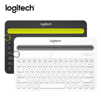Original Genuine Logitech K480 Bluetooth Keyboard Mobile Mac Tablet Laptop Multi Device thin Mini mute keyboard with PC laptop