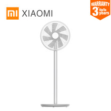 New XIAOMI MIJIA SMARTMI Standing Floor Fan 2 / 2S DC Pedestal Standing portable Fans rechargeable Air Conditioner Natural Wind(China)