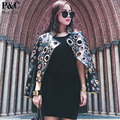 Punk Rock Biker Eyelet Faux Leather Jacket Women Spike Studded Outwear Coats Women  Cropped Vintage Hollow Out Jackets