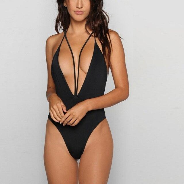 fdfa53bdfffa9 Plus 2xl size bikini 2017 new swimwear sexy women swimsuit one piece  bathing suit women halter beach swim suit bikini brazilian
