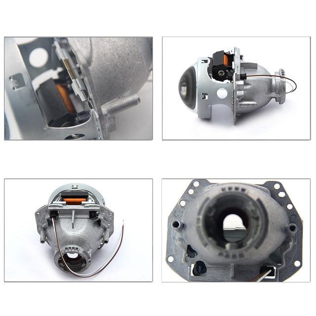 Royalin metal para hella 3r g5 bi xenon faróis lente d2s luzes do projetor lâmpada carro universal d1s d2h d3s d4s lâmpadas retrofit 2