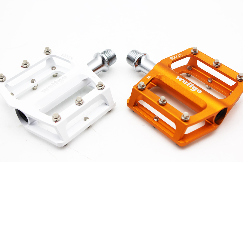 WELLGO 9//16/'/' MTB BMX Aluminum Bicycle Bearing Cycling Bike Pedals Platforms