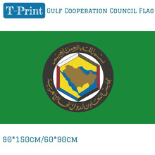 Free shipping Gulf Cooperation Council Flag 90x150cm 60*90cm Polyester 3x5ft Banner