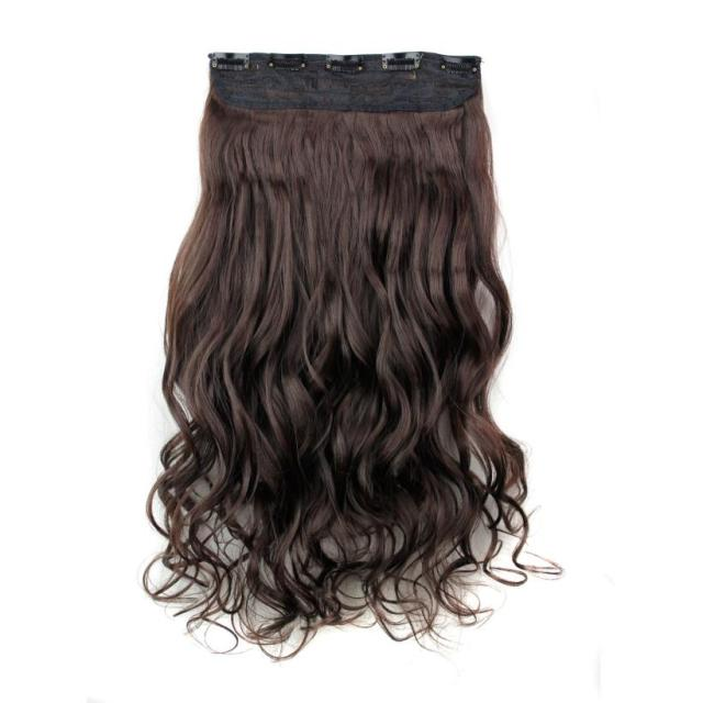 5Pcs Clip False Hair Synthetic Hair Extension  5