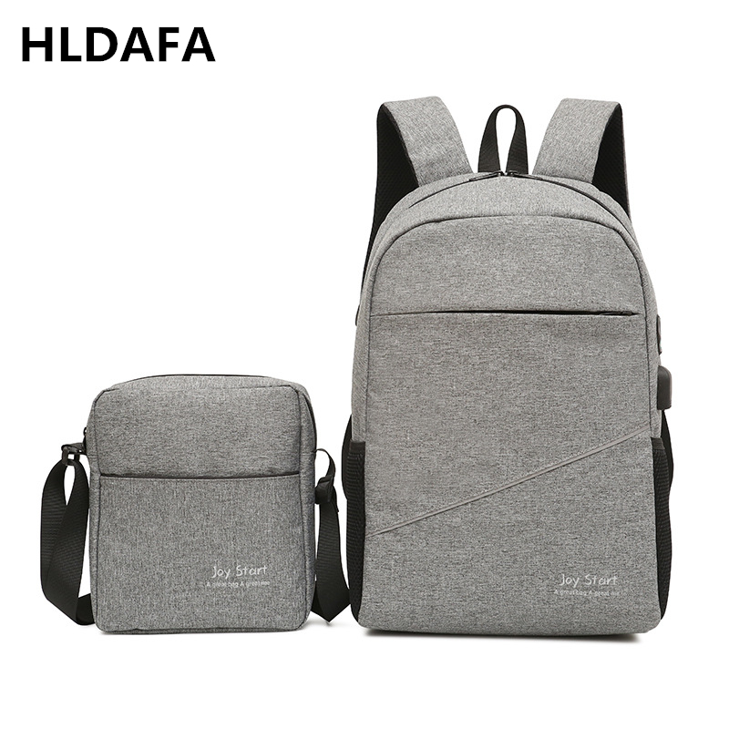 HLDAFA 2018 New 2PCS/Set Nylon Casual Travel Men