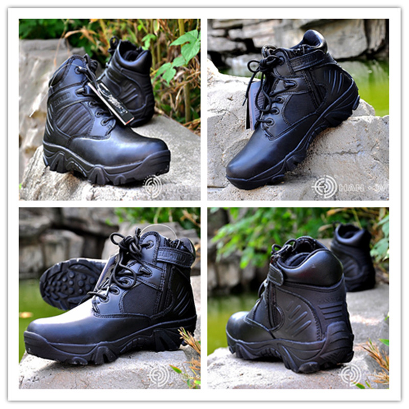 ФОТО Good Sale Men Breathable Camping Fishing Sneakers Tactical Combat Weightlifting Shoes Military Training Shoes Desert Tan Boots