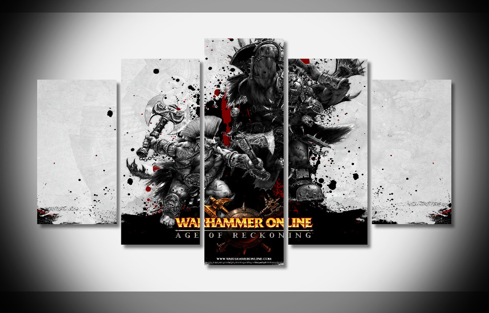 7075 3435 video games warhammer online wallpaper poster Framed Gallery wrap art print home wall decor wall picture Already