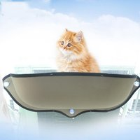Window Mounted Cat Hammock Bed Hanging Sofa Mat Cushion Cage with Strong Suction Cup