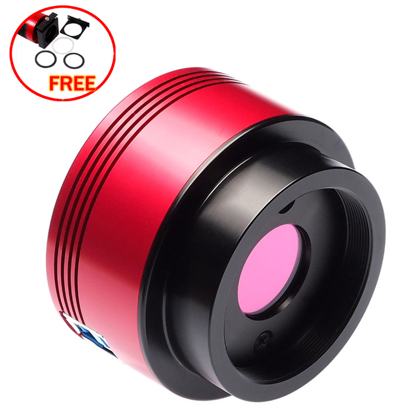 ZWO ASI174MC COLOR CMOS ASTRONOMY CAMERA - USB 3.0  with free a set of 2  filter drawer an atlas of astronomy