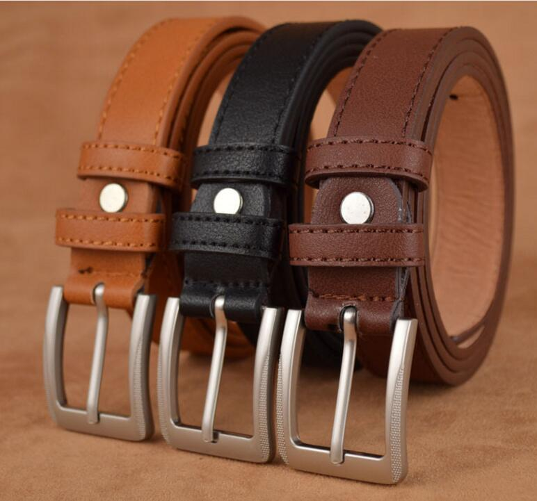 Kids Top Quality PU Leather   Belt   For Students Teenagers Waist   Belt   Straps Cowboy   Belt   Designers Kids   Belt   Boys Children Teens