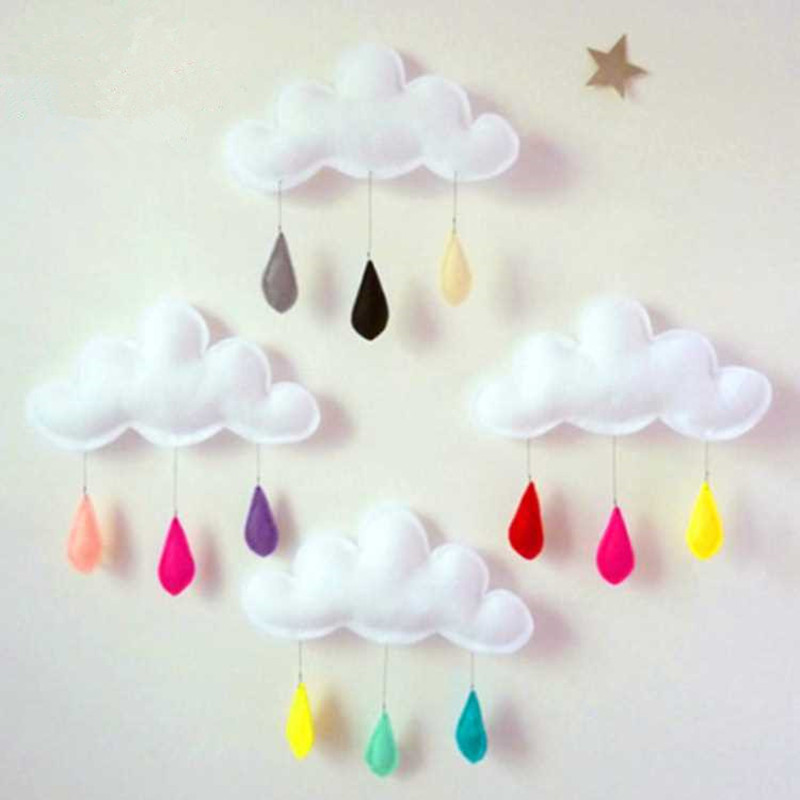 Baby Photography Accessories Cloud Raindrops Kids Photo Props Decoration Background Studio Newborn Photography Props Accessory