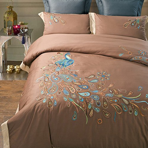 Delicate Peacock Design Bedding Brand 100  Handmade Embroidered Quilt Cover  Fancy Peacock Embroidered. Compare Prices on Fancy Bed Covers  Online Shopping Buy Low Price