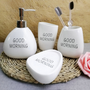 4 piece set bathroom ceramic s