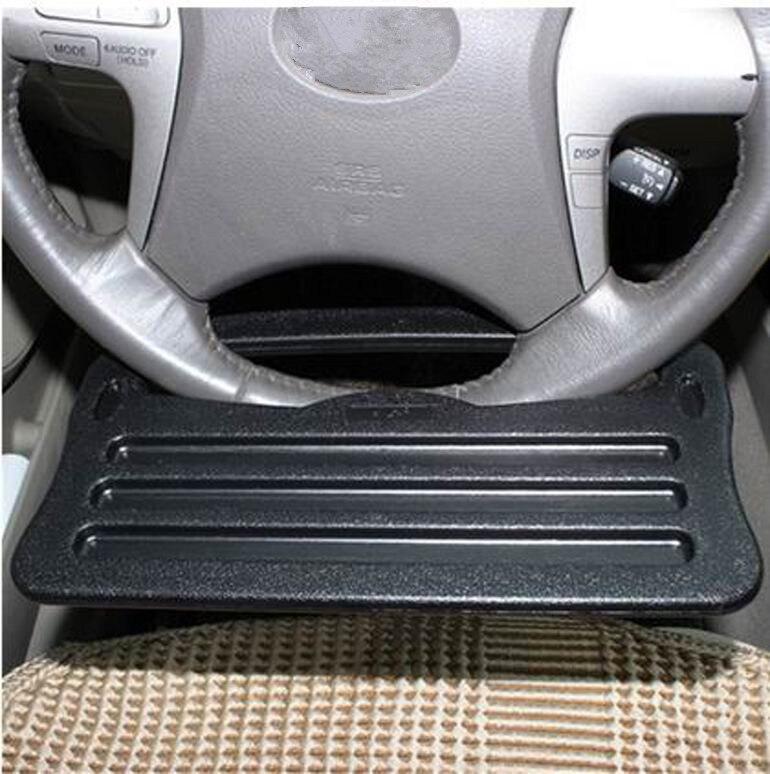 Soporte de color gris / negro soporte del volante del coche Soporte - Accesorios de interior de coche - foto 3