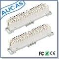 AUCAS 10 PCS 10 par krone módulo da desconexão krone módulo High-end de Ferro Frete Grátis