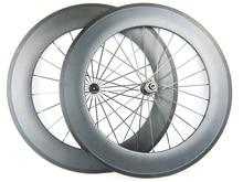 1565g light carbon fiber wheel 88mm depth 25mm width 700C road 11 speed carbon wheel