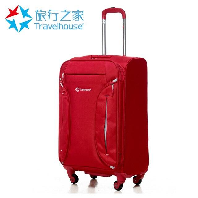 Travel bag wheels universal soft box trolley cloth box luggage ...