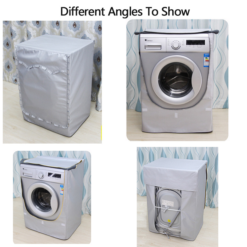 Waschmaschine Abdeckung Cartoon Silber Beschichtung Oxford Tuch - Haushaltswaren - Foto 4