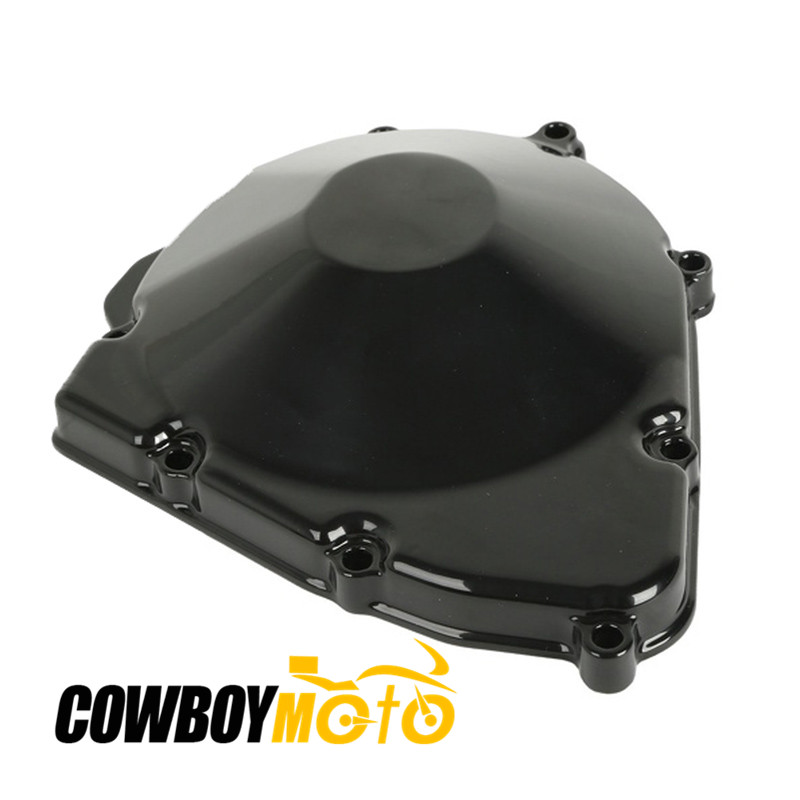 For Suzuki GSX600F GSX750F 1998-2006 /GSF600 BANDIT 600 1996-2003 Motorcycle Left Engine Cover Crankcase GSX 600F 750F GSF 600 for suzuki gsx 600 f 1998 2003 1999 2000 2001 2002 gsf bandit s 600 2004 motorcycle front brake disc disk rotor gsx750f 750