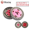 VR RACING - Cam Gear pulley Pair for Mazda MX-5 / MX5 BP6/BP8 NB6/8 camshaft gears red VR6539R