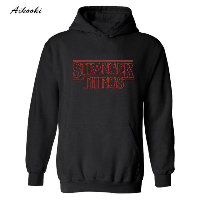 Stranger Things Logo Hoodies