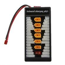 Venta caliente 6 en 1 Enchufe TX60 2 S-6 S Lipo Batería de Carga En Paralelo junta Placa con Cable Balanceado para Imax B6 B8 B6AC Cargador UNA6