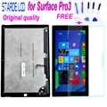 Оригинальный ЖК-дисплей класса AAA для microsoft Surface Pro3 Pro 3 1631 V1.1 V1.0, кодирующий преобразователь сенсорного экрана в сборе + стекло