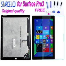 Grade AAA Starde Original LCD For Microsoft Surface Pro3 Pro 3 1631 V1.1 V1.0 LCD Display Touch Screen Digitizer Assembly +Glass lcd assembly display touch screen digitizer panel for microsoft surface pro 3 1631 tom12h20 v1 1 ltl120ql01 003 free tools