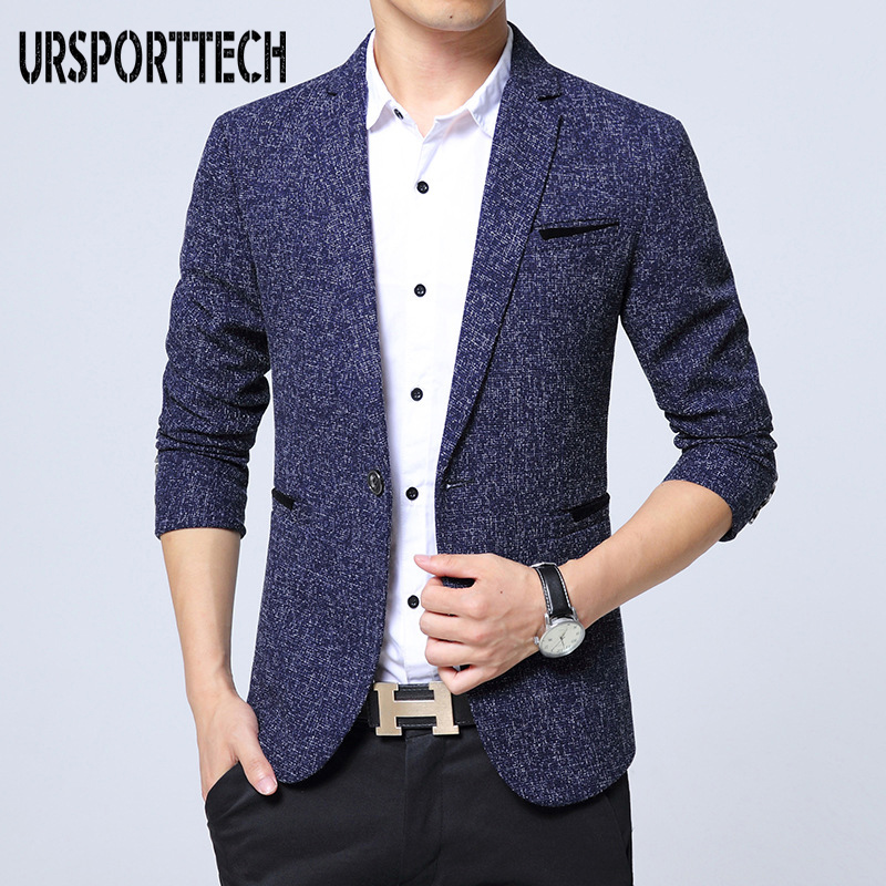 Brand New Men Blazer Slim Fit Casual Fashion Suit Jacket Mens High Quality Business Blazer Jacket Masculino Men Suits