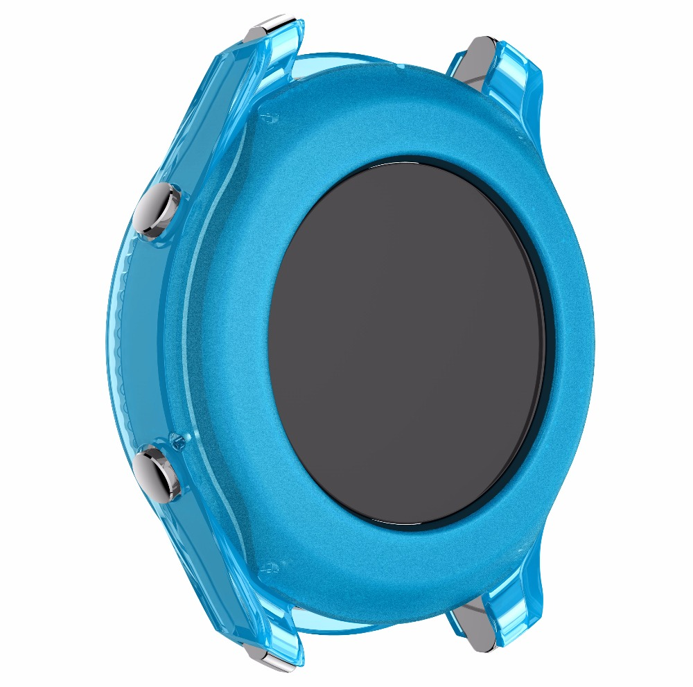 TPU Accessories For Samsung Gear S3 Classic Watch Colorful Silicone Shell protection Case Shock Proof Resistant Protective Cover Pakistan