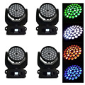 4 шт./лот moving head lights 36x15 W Zoom + Wash led moving head lights moving heads 36 Pro dj disco stage light