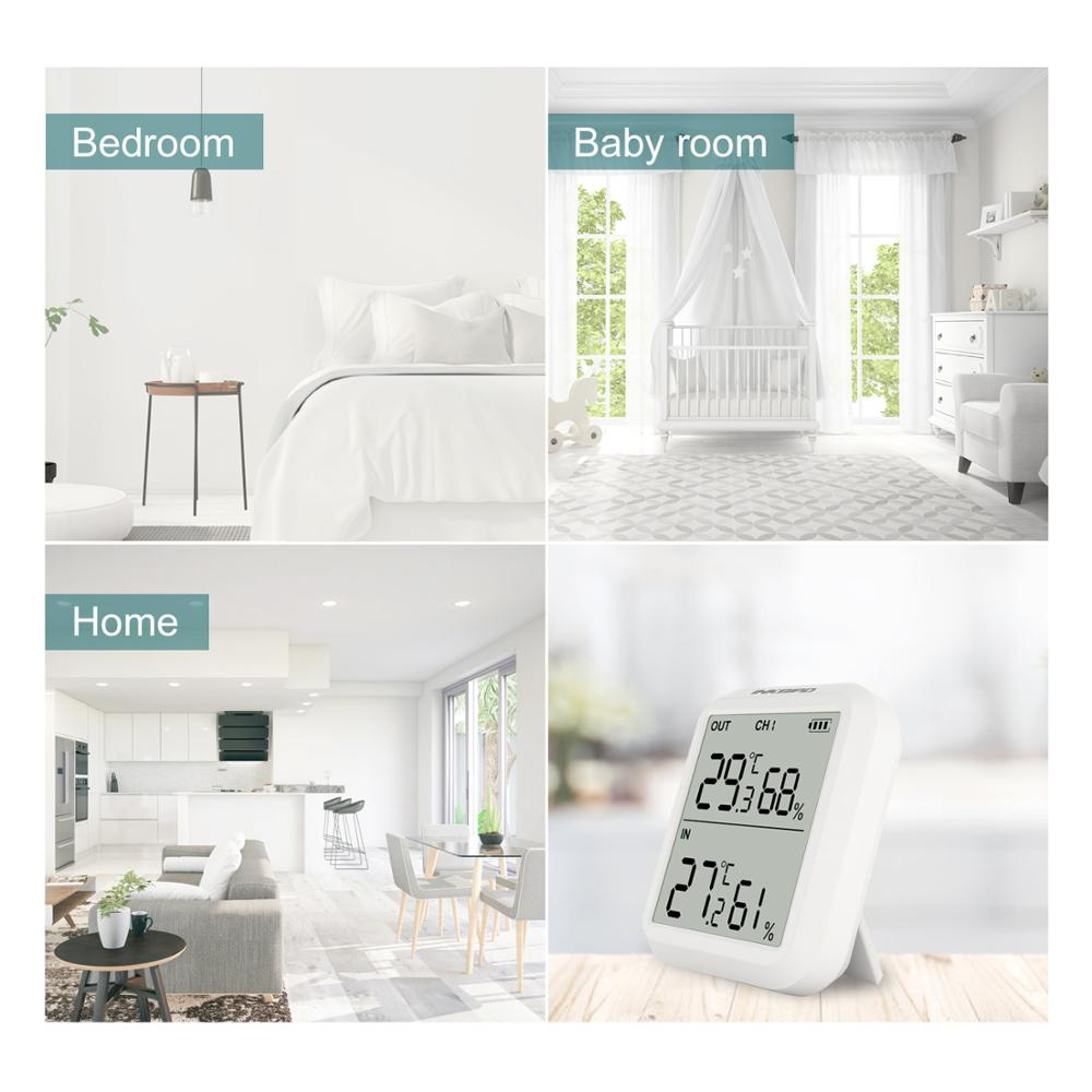 Image 5 - Inkbird ITH 20R Wireless Digital Indoor Outdoor Thermometer  Humidity Monitor with Temperature Gauge Humidity Meter Room  GarageTemperature Instruments