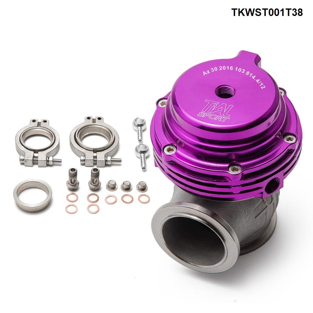 Portão de resíduos turbo pulseira v, 38mm de desperdício externo para supercarga turbo colector-5