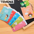 TEMENA Cute Cartoon Card Holder Girl PVC Bus Ic Card Business Credit Card Cover Card Case ACH201E