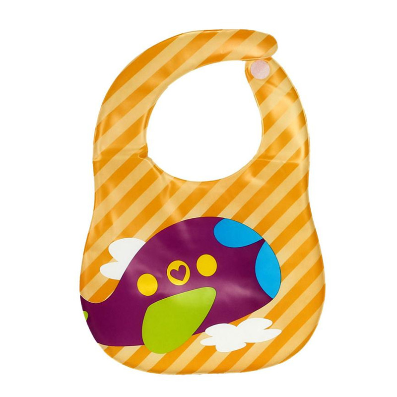 New Kids Child Translucent Plastic Soft Baby Waterproof Bibs EVA Safety convenience S3APR20
