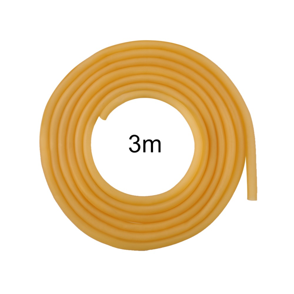 3m 6*9mm Natural Latex Rubber Band Rubber Hose For Slingshot Catapult Surgical Tube Elastic Parts Plumbing Hoses