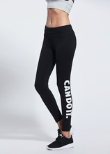 New Winter Women Sport Yoga Pants Quick-drying Gym Fitness Workout Leggings Letters printing Sports Running Trousers