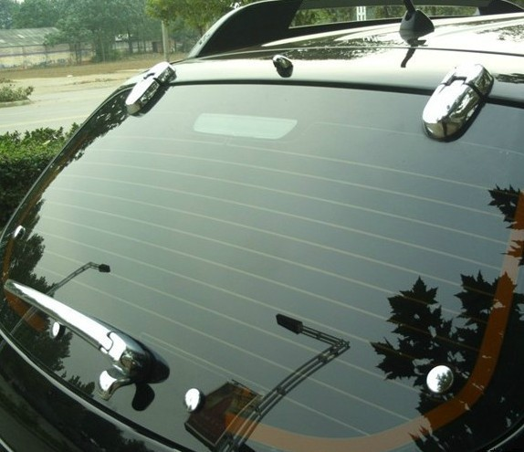 ABS Chrome Rear window wiper cover Trim fit for 2005 2009 Hyundai Tucson Car styling