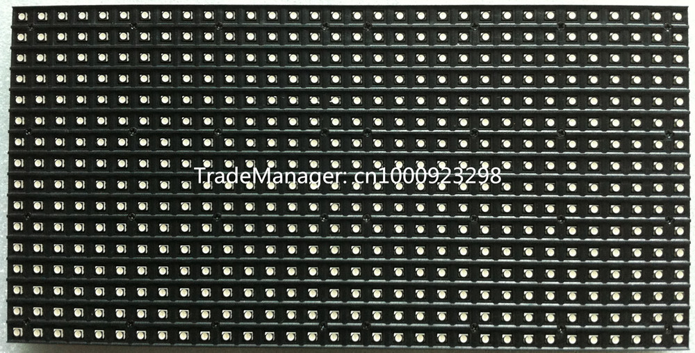 P7.62 Inomhus SMD 3in1 Full Color Led Panel Display Modul 1 / 8scan - - LED-belysning