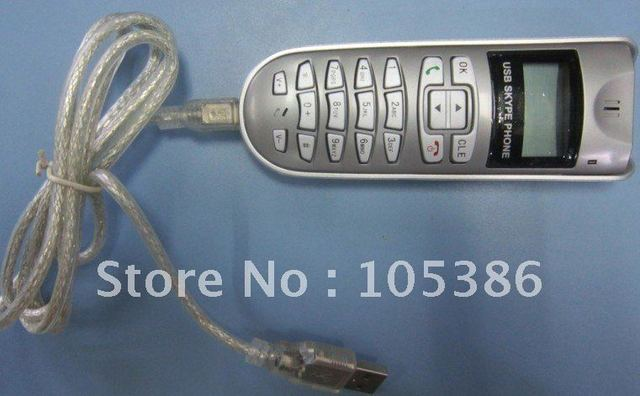 skype USB Phone Handset Voip phone,LCD USB Phone,pc accessories free shipping
