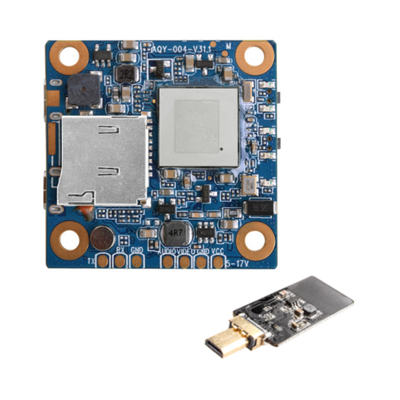 High Quality PCB & WiFi Module for RunCam Split 2 FPV Camera Accessories for RC Quadcopter Models Spare Parts Accessories f04305 sim900 gprs gsm development board kit quad band module for diy rc quadcopter drone fpv