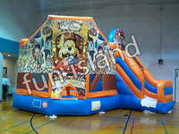 CE Certificate High Quality kids air bouncer inflatable trampoline,mickey bouncer