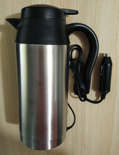 750ml 24V 240W truck heating stainless steel cup electric kettle 25 minutes boiled