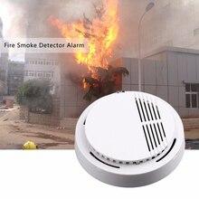 85дБ Пожарный Дым Фотоэлектрический Датчик Детектор Монитор Домашней Системы Безопасности Беспроводн