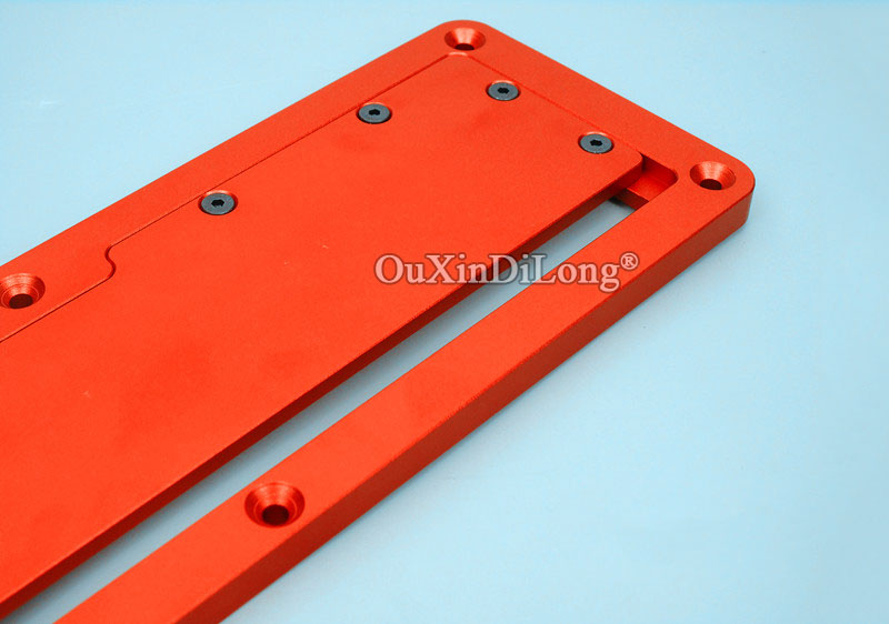 Купить с кэшбэком 1PCS Woodworking Electric Circular Saw Flip Cover Plate Aluminium Insert Plate for Table Saw JF1706